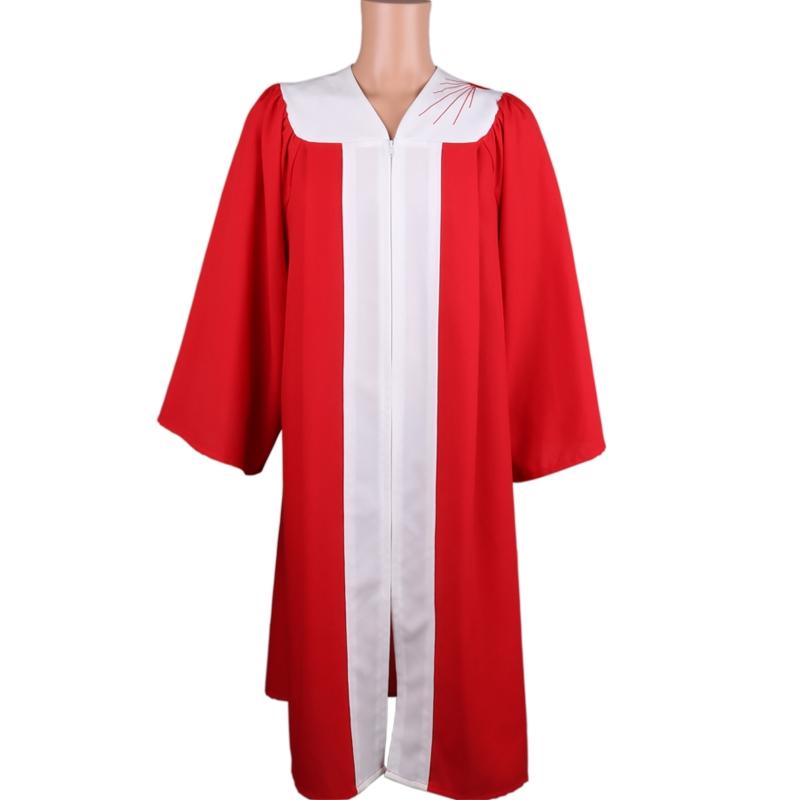 红刺绣坚信服